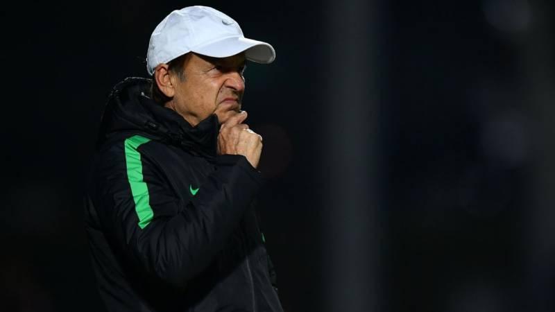 2019 afcon qualifier eagles coach gernot rohr