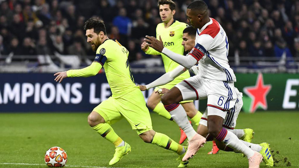Image result for Lyon shares fall after club's goalless draw against Barcelona